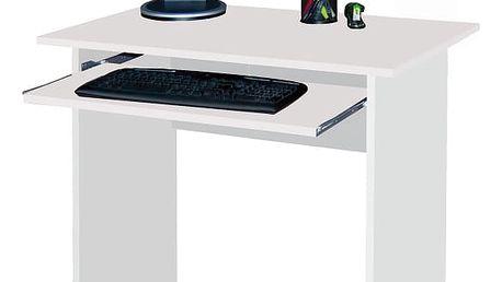 MB Počítačový stůl TWIST bílá