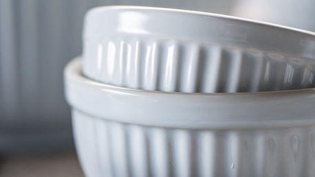 IB LAURSEN Keramická mini miska Mynte Stillwater Velikost M, modrá barva, keramika
