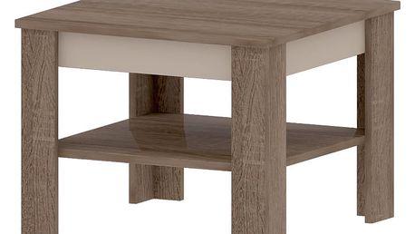 TOKKIO A, konferenční stolek, dub sonoma truflový/champagne