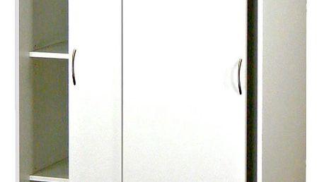 Smartshop Skříň s posuvnými dveřmi 5223, bílá