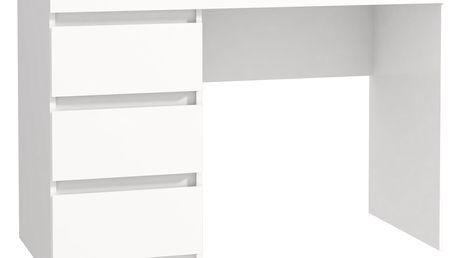 DESKS psací stůl MT974, bílá DOPRODEJ