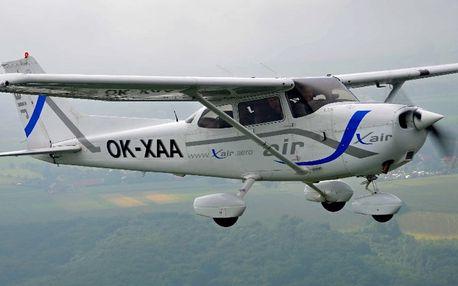Zážitkové lety s výhledem na české zámky