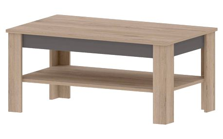 MADDAGASKAR B, konferenční stolek, dub sonoma/grafit