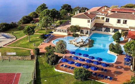 Itálie - Sardinie / Sardegna na 8 dní, polopenze nebo snídaně s dopravou letecky z Prahy 30 m od pláže