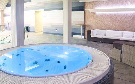 Wellness pobyt pro dva s polopenzí v hotelu Orlík
