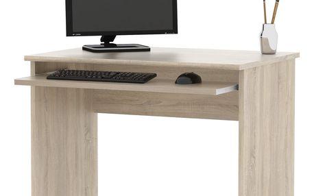 Kancelářský PC stůl SJH311, dub sonoma