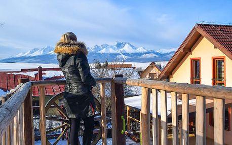 Vysoké Tatry se vstupem do Thermal Parku