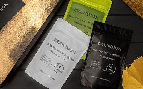 Detoxikační čaje a matcha v luxusním balení