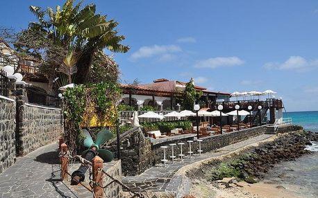 Kapverdské ostrovy - Ostrov Sal na 12 až 15 dní, polopenze nebo snídaně s dopravou letecky z Prahy 450 m od pláže