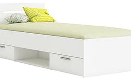 Demeyere postel bílá MACHIGAN 90x200