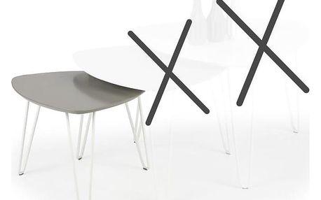 Konferenční stolek NIKITA 3, béžový