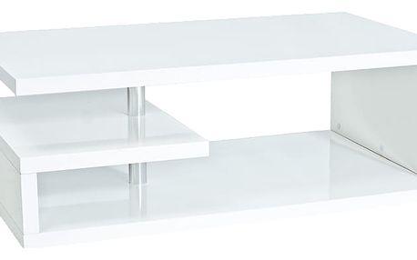 TERRA OP, konferenční stolek, bílý lak