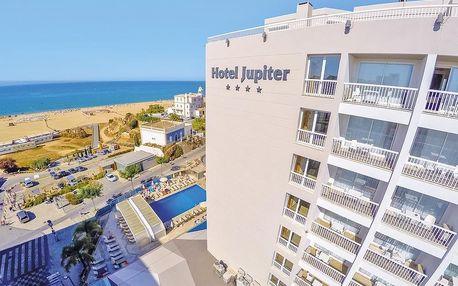 Portugalsko - Algarve na 8 až 15 dní, polopenze nebo snídaně s dopravou letecky z Prahy 100 m od pláže