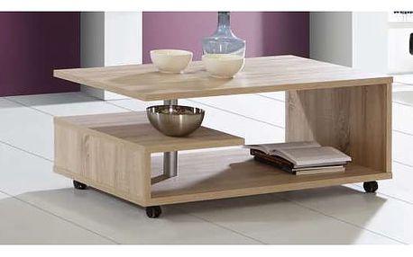 BAILEY, konferenční stolek, dub sonoma