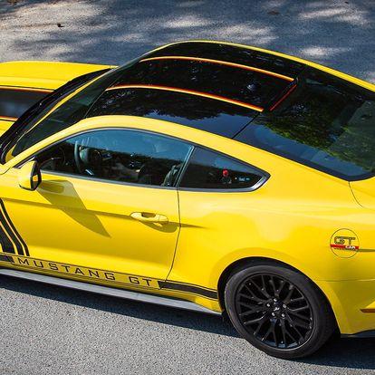 Jízda ve Fordu Mustang GT 5.0: 30–60 minut