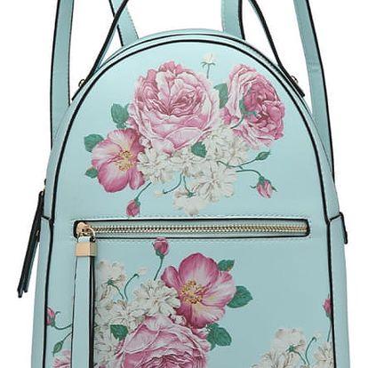Dámský modrý batoh Vicky 1866F