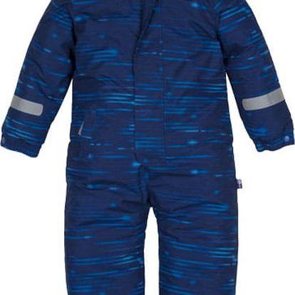 G-MINI Kombinéza zimní kojenecká Bagel vel. 98, chlapec modrá