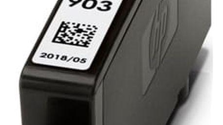 Inkoustová náplň HP 903, 315 stran - azurová (T6L87AE#BGY)