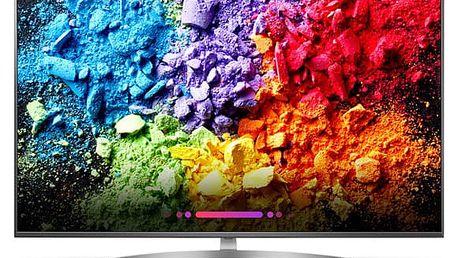 Televize LG 55SK8100PLA titanium