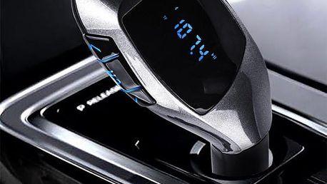 Bluetooth FM transmitter s USB - dodání do 2 dnů