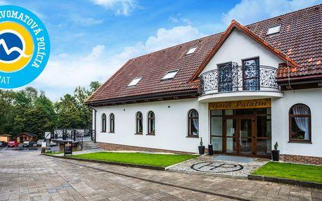 Romantický pobyt v novom Hoteli Palatín priamo pod Oravský Hradom