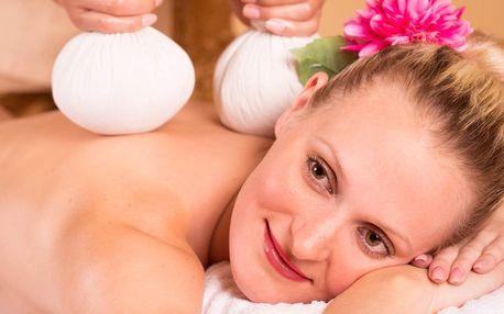 Thajská masáž: bylinná i olejová s masáží nohou