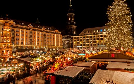 Advent a nákupy v Drážďanech - vánoční trhy i Primark