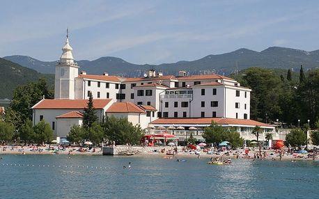 Chorvatsko - Crikvenica na 10 až 17 dní, polopenze s dopravou autobusem 20 m od pláže