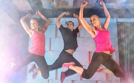 Pravidelné cvičení Latino Dance se světelnou show