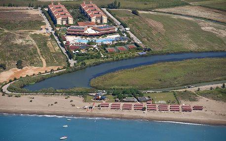 Turecko - Belek na 8 dní, ultra all inclusive s dopravou letecky z Prahy 400 m od pláže
