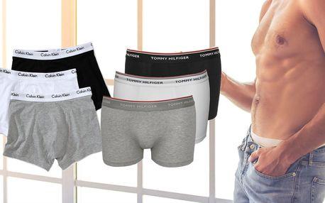 Pánské boxerky Calvin Klein nebo Tommy Hilfiger