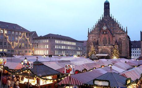 Advent v Norimberku - největší vánoční trhy v Evropě autobusem