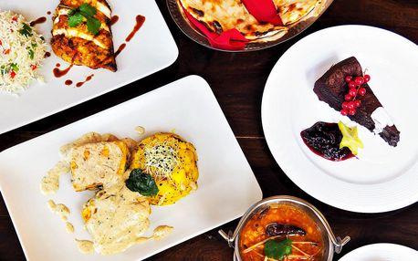 Zážitkové degustační indické menu pro dva