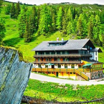 Alpy v českém hotelu + dítě zdarma