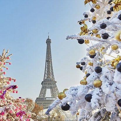 3denní víkendový adventní zájezd pro 1 za romantikou do Paříže