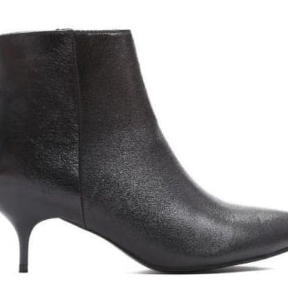 Dámské černé kotníkové boty Kendra 9232