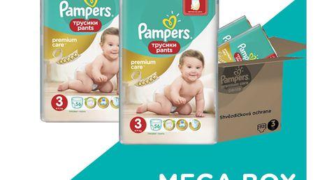 PAMPERS Premium Care Pants 3 MIDI 112 ks (6-11 kg) - plenkové kalhotky