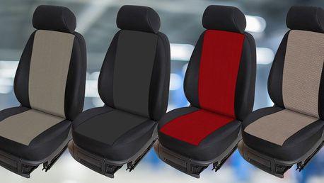 Autopotahy na míru pro vozy Dacia - 4 barvy