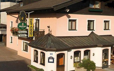 Rakousko - Kaprun / Zell am See na 4 až 7 dní, polopenze s dopravou vlastní