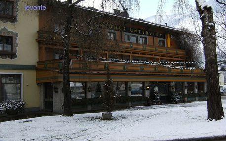 Rakousko - Saalbach / Hinterglemm na 5 dní, snídaně s dopravou autobusem