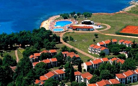Chorvatsko - Umag na 8 až 11 dní, bez stravy s dopravou vlastní 100 m od pláže