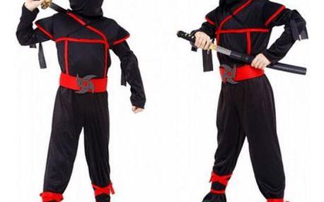Dětský karnevalový kostým Ninja