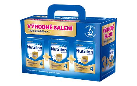 NUTRILON 4 Pronutra BiB 3x800g