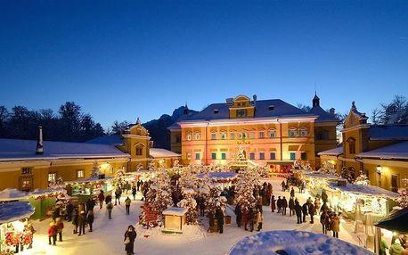 Rakousko - Salzburg na 1 den, bez stravy s dopravou autobusem