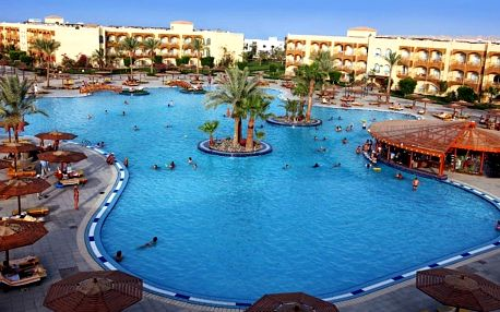 Egypt - Hurghada na 8 dní, all inclusive s dopravou letecky z Brna nebo Prahy přímo na pláži