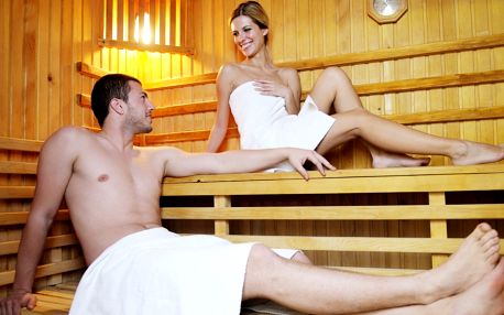 Wellness s atmosférou džungle: vířivka i sauna