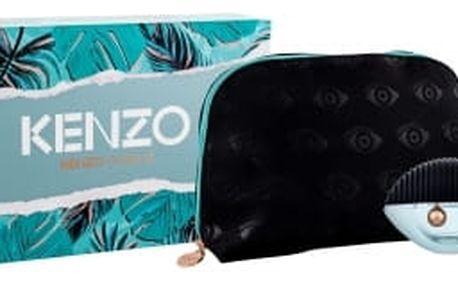 KENZO Kenzo World dárková kazeta pro ženy parfémovaná voda 75 ml + tělové mléko 75 ml + kosmetická taška