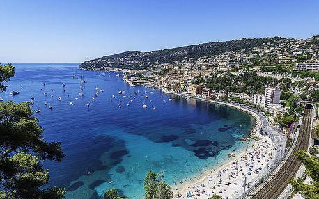 Francie a Monako 5denní poznávací zájezd z vč. 2× ubytování