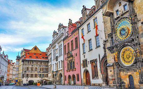 Pulzující Praha v oblíbeném hotelu nedaleko Václavského náměstí se snídaní