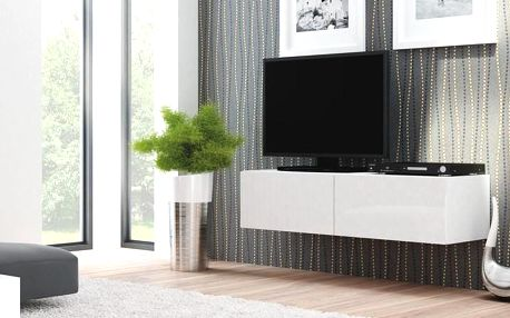 Televizní stolek Livo RTV-160W bílá
